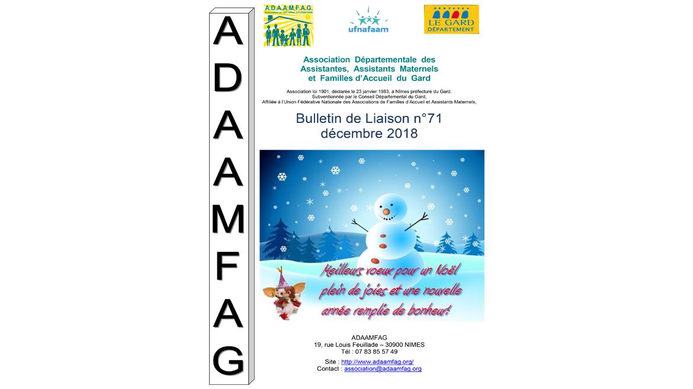 Bulletin N°71